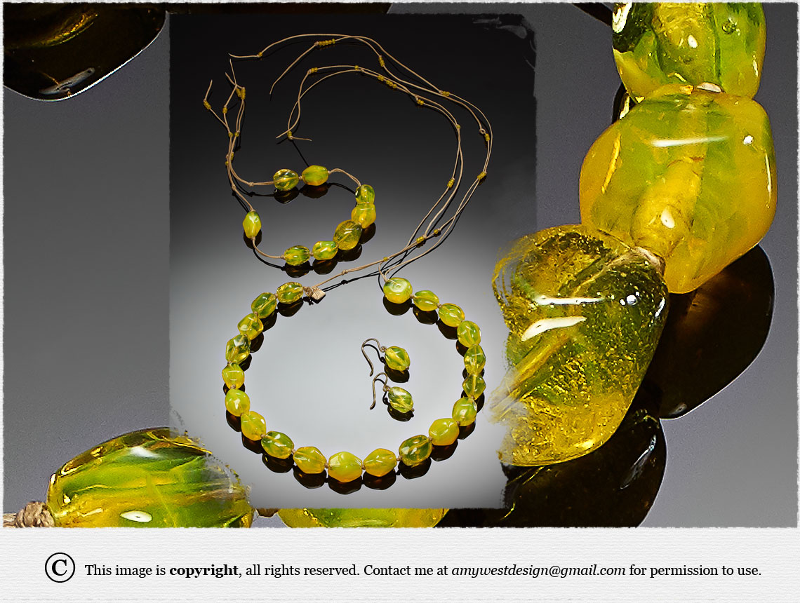 Inspirations, Colors & Gold, Jewelry by Amy West